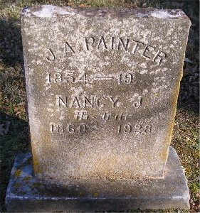 PAINTER, NANCY JANE - McDonald County, Missouri   NANCY JANE PAINTER - Missouri Gravestone Photos