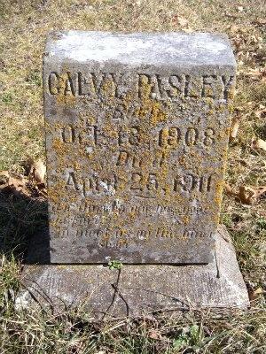 PASLEY, GALVY - McDonald County, Missouri | GALVY PASLEY - Missouri Gravestone Photos