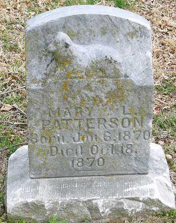 PATTERSON, MARY L - McDonald County, Missouri   MARY L PATTERSON - Missouri Gravestone Photos