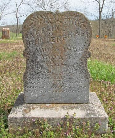 PENDERGRAFT, ANGELINE - McDonald County, Missouri   ANGELINE PENDERGRAFT - Missouri Gravestone Photos