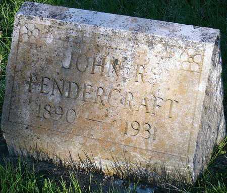 PENDERGRAFT, JOHN ROBERT - McDonald County, Missouri   JOHN ROBERT PENDERGRAFT - Missouri Gravestone Photos