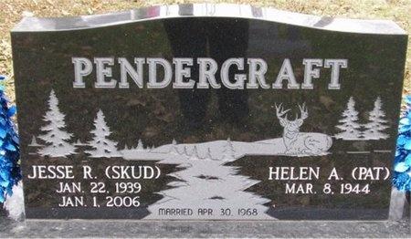 "PENDERGRAFT, JESSE R ""SKUD"" - McDonald County, Missouri   JESSE R ""SKUD"" PENDERGRAFT - Missouri Gravestone Photos"
