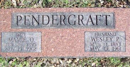PENDERGRAFT, MAMIE OLIVE - McDonald County, Missouri | MAMIE OLIVE PENDERGRAFT - Missouri Gravestone Photos
