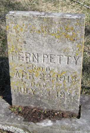 PETTY, FERN - McDonald County, Missouri | FERN PETTY - Missouri Gravestone Photos