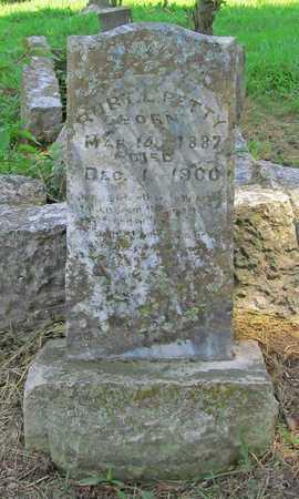PETTY, ROBERT L - McDonald County, Missouri | ROBERT L PETTY - Missouri Gravestone Photos