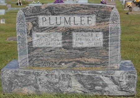PLUMLEE, MINNIE M. - McDonald County, Missouri | MINNIE M. PLUMLEE - Missouri Gravestone Photos