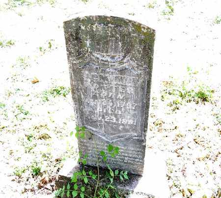 "POTTER, JEMIMA ""BENNIE"" - McDonald County, Missouri | JEMIMA ""BENNIE"" POTTER - Missouri Gravestone Photos"