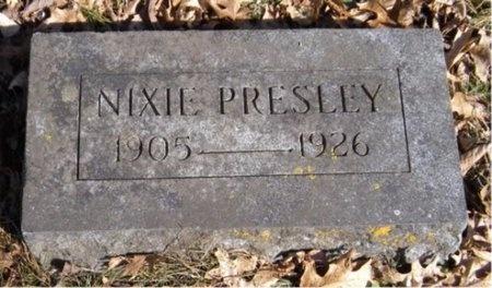 PRESLEY, NIXIE - McDonald County, Missouri   NIXIE PRESLEY - Missouri Gravestone Photos