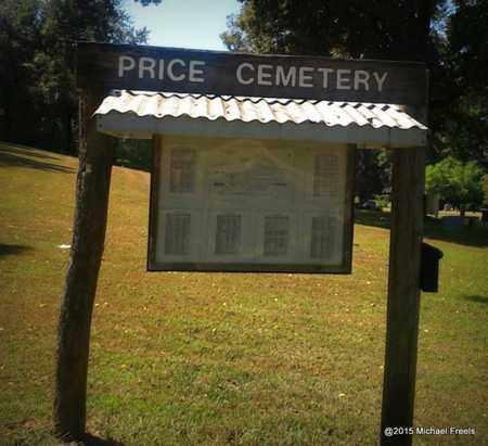 *, PRICE CEMETERY SIGN - McDonald County, Missouri | PRICE CEMETERY SIGN * - Missouri Gravestone Photos