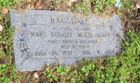 MAGEE RAGSDALE, MARY ROSALEE - McDonald County, Missouri | MARY ROSALEE MAGEE RAGSDALE - Missouri Gravestone Photos