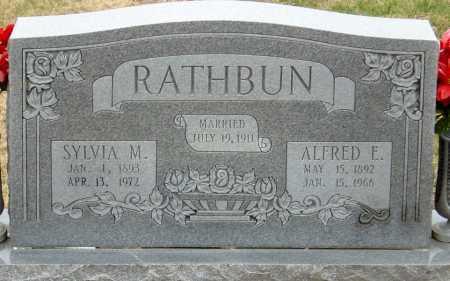RATHBUN, ALFRED ELONZO - McDonald County, Missouri | ALFRED ELONZO RATHBUN - Missouri Gravestone Photos