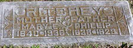 HOLLAND RITCHEY, MARY E - McDonald County, Missouri | MARY E HOLLAND RITCHEY - Missouri Gravestone Photos