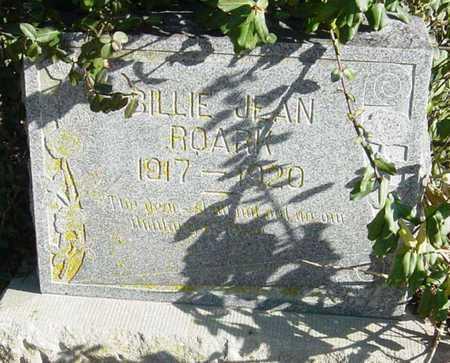 ROARK, BILLIE JEAN - McDonald County, Missouri | BILLIE JEAN ROARK - Missouri Gravestone Photos