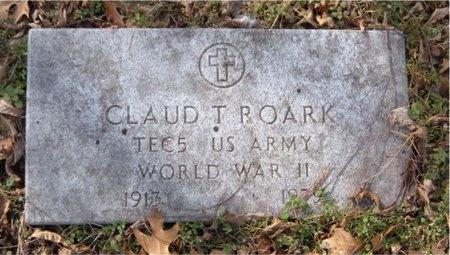 ROARK, CLAUD T (VETERAN WWII) - McDonald County, Missouri   CLAUD T (VETERAN WWII) ROARK - Missouri Gravestone Photos