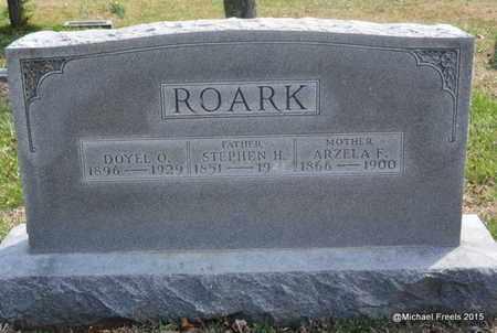 ROARK, STEPHEN H. - McDonald County, Missouri | STEPHEN H. ROARK - Missouri Gravestone Photos