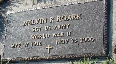 "ROARK, MELVIN R ""HUCK"" VETERAN WWII - McDonald County, Missouri | MELVIN R ""HUCK"" VETERAN WWII ROARK - Missouri Gravestone Photos"