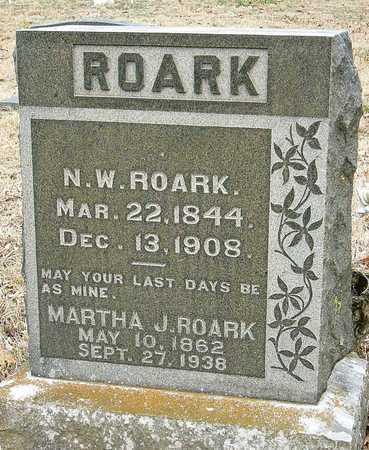 ROARK, NATHAN WILSON - McDonald County, Missouri | NATHAN WILSON ROARK - Missouri Gravestone Photos