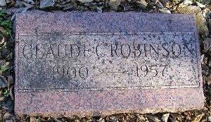ROBINSON, CLAUDE C - McDonald County, Missouri | CLAUDE C ROBINSON - Missouri Gravestone Photos