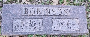 ROBINSON, FLORENCE L - McDonald County, Missouri | FLORENCE L ROBINSON - Missouri Gravestone Photos