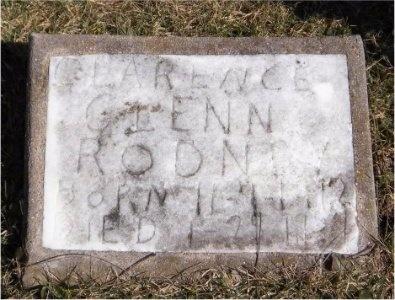 RODNEY, CLARENCE GLENN - McDonald County, Missouri | CLARENCE GLENN RODNEY - Missouri Gravestone Photos