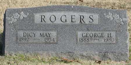 HARLESS ROGERS, DICY MAY - McDonald County, Missouri | DICY MAY HARLESS ROGERS - Missouri Gravestone Photos