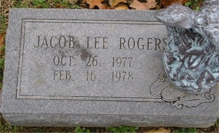 ROGERS, JACOB LEE - McDonald County, Missouri | JACOB LEE ROGERS - Missouri Gravestone Photos