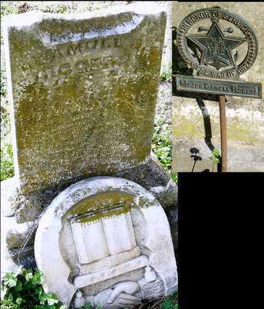 ROGERS, SAMUEL J VETERAN 1812 - McDonald County, Missouri | SAMUEL J VETERAN 1812 ROGERS - Missouri Gravestone Photos