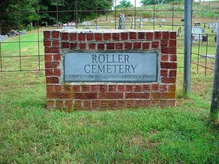 *, ROLLER CEMETERY SIGN - McDonald County, Missouri | ROLLER CEMETERY SIGN * - Missouri Gravestone Photos