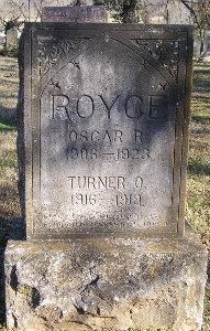 ROYCE, OSCAR R - McDonald County, Missouri | OSCAR R ROYCE - Missouri Gravestone Photos
