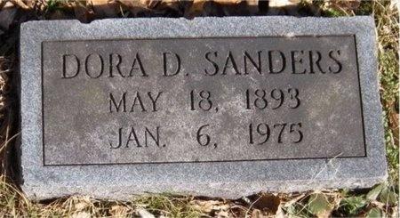 SANDERS, DORA D - McDonald County, Missouri | DORA D SANDERS - Missouri Gravestone Photos