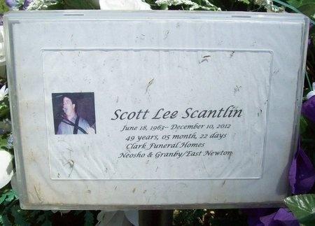 SCANTLIN, SCOTT LEE - McDonald County, Missouri   SCOTT LEE SCANTLIN - Missouri Gravestone Photos