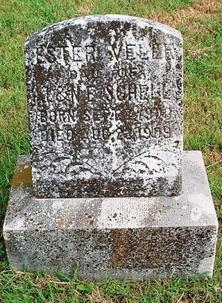 SCHELL, ESTER VELER - McDonald County, Missouri   ESTER VELER SCHELL - Missouri Gravestone Photos