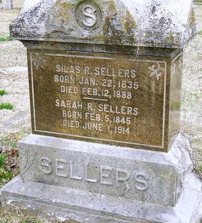 SELLERS, SARAH R - McDonald County, Missouri | SARAH R SELLERS - Missouri Gravestone Photos