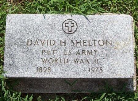 SHELTON, DAVID H (VETERAN WWII) - McDonald County, Missouri   DAVID H (VETERAN WWII) SHELTON - Missouri Gravestone Photos