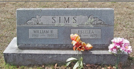 SIMS, WILLIAM R - McDonald County, Missouri | WILLIAM R SIMS - Missouri Gravestone Photos