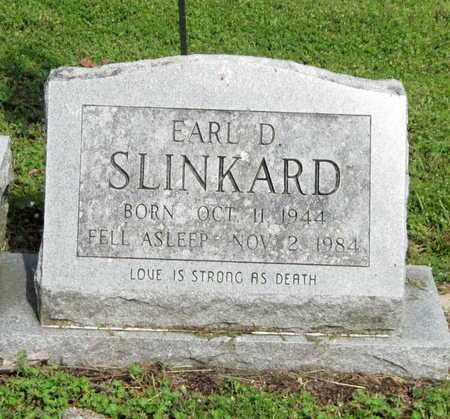 SLINKARD, EARL D - McDonald County, Missouri   EARL D SLINKARD - Missouri Gravestone Photos