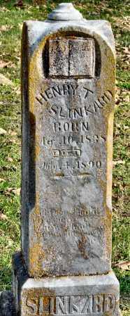 SLINKARD, HENRY T - McDonald County, Missouri   HENRY T SLINKARD - Missouri Gravestone Photos