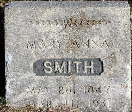 SMITH, MARY ANNA - McDonald County, Missouri | MARY ANNA SMITH - Missouri Gravestone Photos