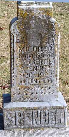SPENCER, MILDRED - McDonald County, Missouri | MILDRED SPENCER - Missouri Gravestone Photos