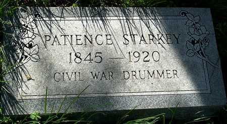 STARKEY, PATIENCE A VETERAN CW - McDonald County, Missouri | PATIENCE A VETERAN CW STARKEY - Missouri Gravestone Photos