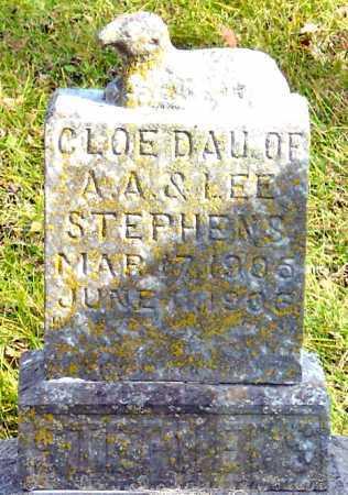 "STEPHENS, CLOE ""SIBBIE"" - McDonald County, Missouri   CLOE ""SIBBIE"" STEPHENS - Missouri Gravestone Photos"