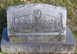 STEWART, LOY OCTAVIA - McDonald County, Missouri   LOY OCTAVIA STEWART - Missouri Gravestone Photos