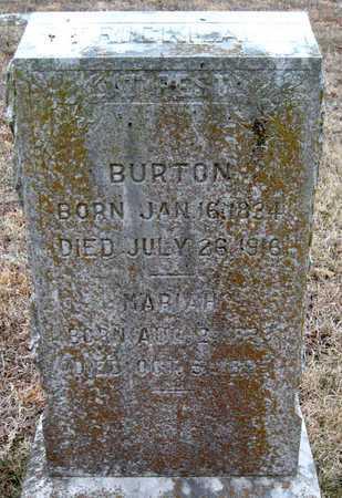 STRICKLAND, BURTON - McDonald County, Missouri | BURTON STRICKLAND - Missouri Gravestone Photos