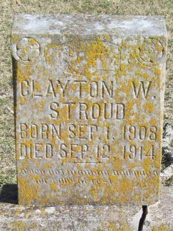 STROUD, CLAYTON W - McDonald County, Missouri | CLAYTON W STROUD - Missouri Gravestone Photos