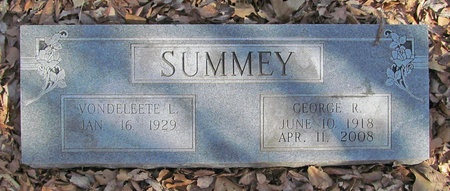 SUMMEY, GEORGE R - McDonald County, Missouri | GEORGE R SUMMEY - Missouri Gravestone Photos