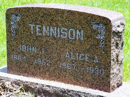 ADKINS TENNISON, ALICE - McDonald County, Missouri | ALICE ADKINS TENNISON - Missouri Gravestone Photos