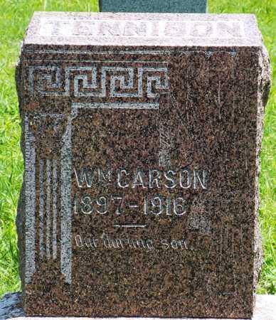 TENNISON, WILLIAM CARSON - McDonald County, Missouri   WILLIAM CARSON TENNISON - Missouri Gravestone Photos