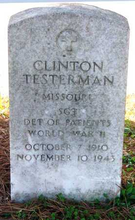 TESTERMAN, CLINTON VETERAN WWII KIA - McDonald County, Missouri | CLINTON VETERAN WWII KIA TESTERMAN - Missouri Gravestone Photos