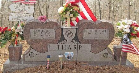 THARP, PERRY ROBERT VETERAN - McDonald County, Missouri | PERRY ROBERT VETERAN THARP - Missouri Gravestone Photos