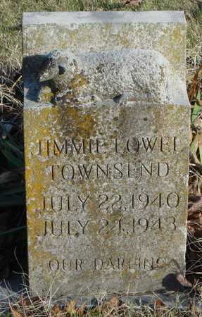 TOWNSEND, JIMMIE LOWELL - McDonald County, Missouri | JIMMIE LOWELL TOWNSEND - Missouri Gravestone Photos